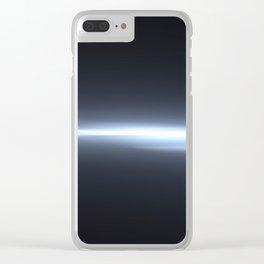 crack in space Clear iPhone Case
