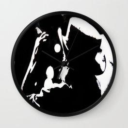 Lemmy Kilmister On Stage Wall Clock