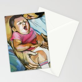 Father and Child Stationery Cards