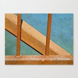 Rusty Railing Canvas Print