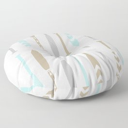 River OAR Ocean Floor Pillow
