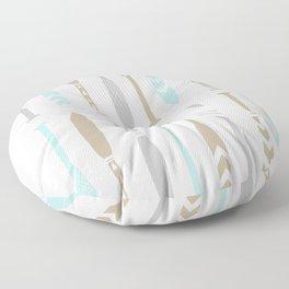 River OAR Ocean Floor Pillow