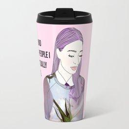 Intelectually stimulating  Travel Mug