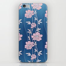 Rose Quartz Flower Garlands iPhone Skin