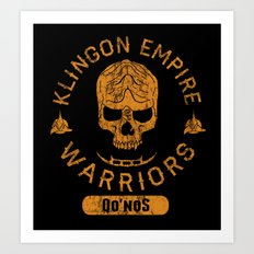 Bad Boy Club: Klingon Empire Warriors Art Print