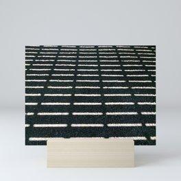 Deck shadow Mini Art Print