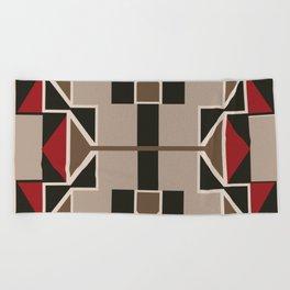 American Native Pattern No. 156 Beach Towel