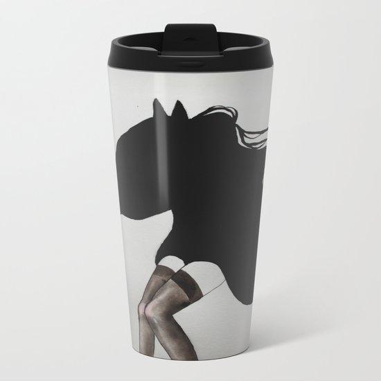 beheaded Metal Travel Mug