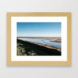 Norfolk tides Framed Art Print