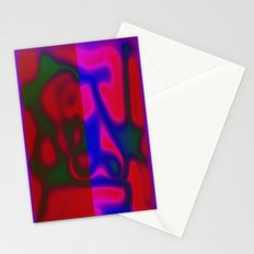 Red Color Leak Stationery Cards
