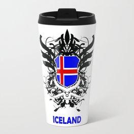 Iceland Uefa Euro 2016 Travel Mug