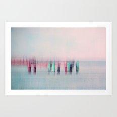 bridge II Art Print