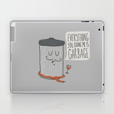 French Trash Can Laptop & iPad Skin