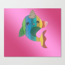 narwhal! Canvas Print
