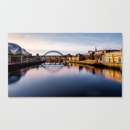 Tyne Riverside Canvas Print