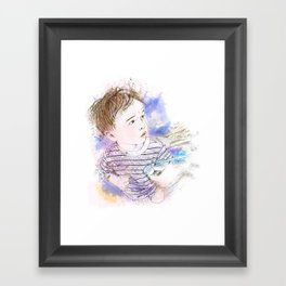 At the Doctor's Office Framed Art Print