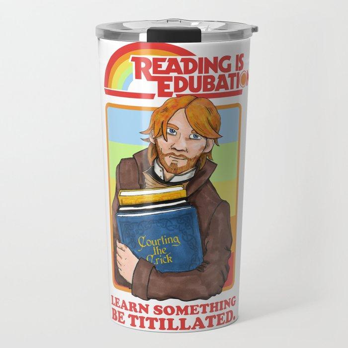 Reading is Edu-Bation Travel Mug