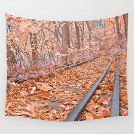 Abandoned Susquehanna Railroad - Fantasy Express Wall Tapestry