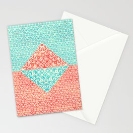 Retro Optical Fantasia Stationery Cards