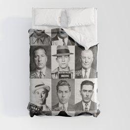 Mobster Mugshots Comforters