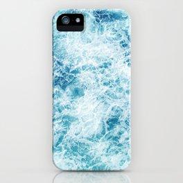 Sea ocean storm waves iPhone Case