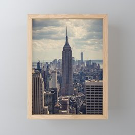 Empire State Building, New York City Framed Mini Art Print