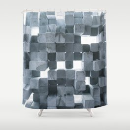 Reflecting Sound Shower Curtain