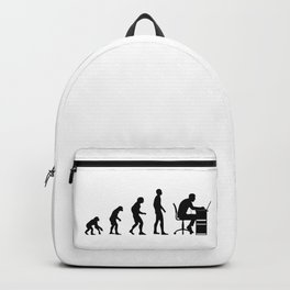 Born To Work Hard Backpack