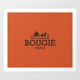 Bougie Art Print