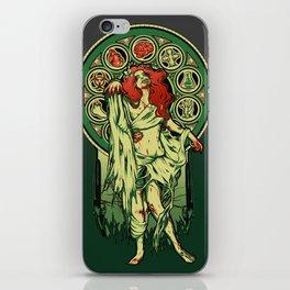 Zombie Nouveau iPhone Skin