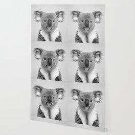 Koala 2 - Black & White Wallpaper