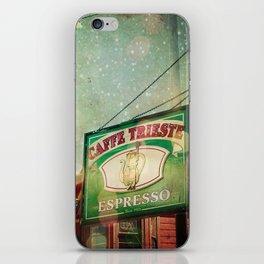 Caffe Trieste iPhone Skin