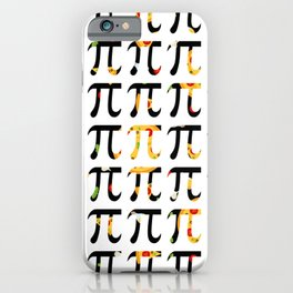 Pizza Funny Math Pun Pi Day Gift Math Science Lover Pi day iPhone Case