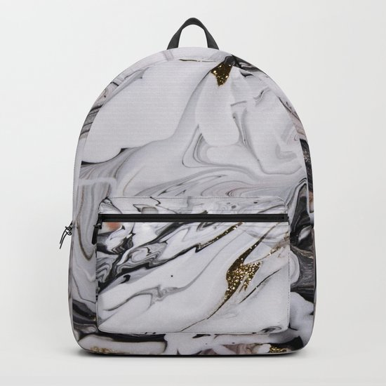 Chic Marble Backpack