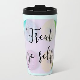 Treat Yo Self Doughnuts Travel Mug