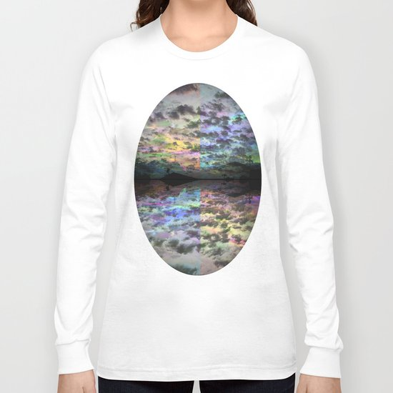Colors Rolling in Long Sleeve T-shirt