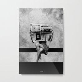 Simplicity... Metal Print