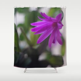 Easter Cactus Shower Curtain