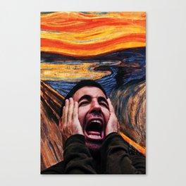 Lito Screaming - Sense8 Canvas Print