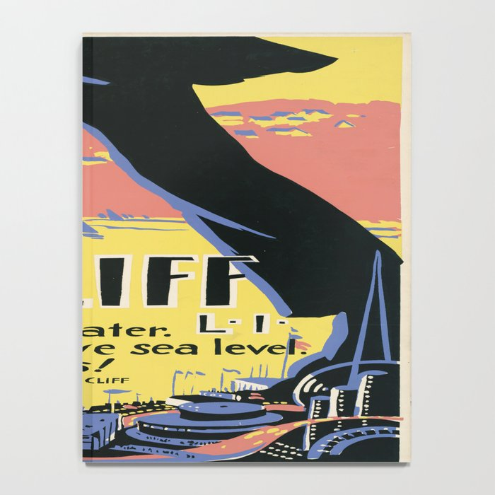 Vintage poster - Sea Cliff Notebook