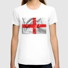 English St Georges Cross Flag T-shirt