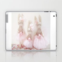 Bunnies Pretty in Pink Laptop & iPad Skin