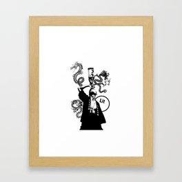 Dungeon Master Framed Art Print