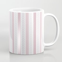 Simple Abstract Arrows Pattern Coffee Mug
