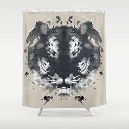 The Secret Jungle Shower Curtain
