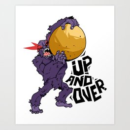 Up And Over Art Print