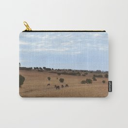 Landscape & Horses Carry-All Pouch