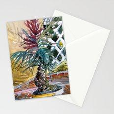 Sunny Palm Tree Stationery Cards