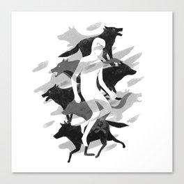 Wolves 02 Canvas Print