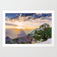 Grand morning Arizona! Art Print